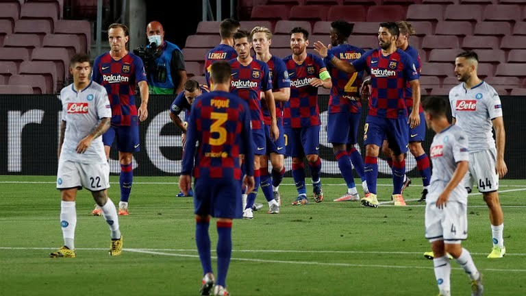 Magic Messi too good for Napoli