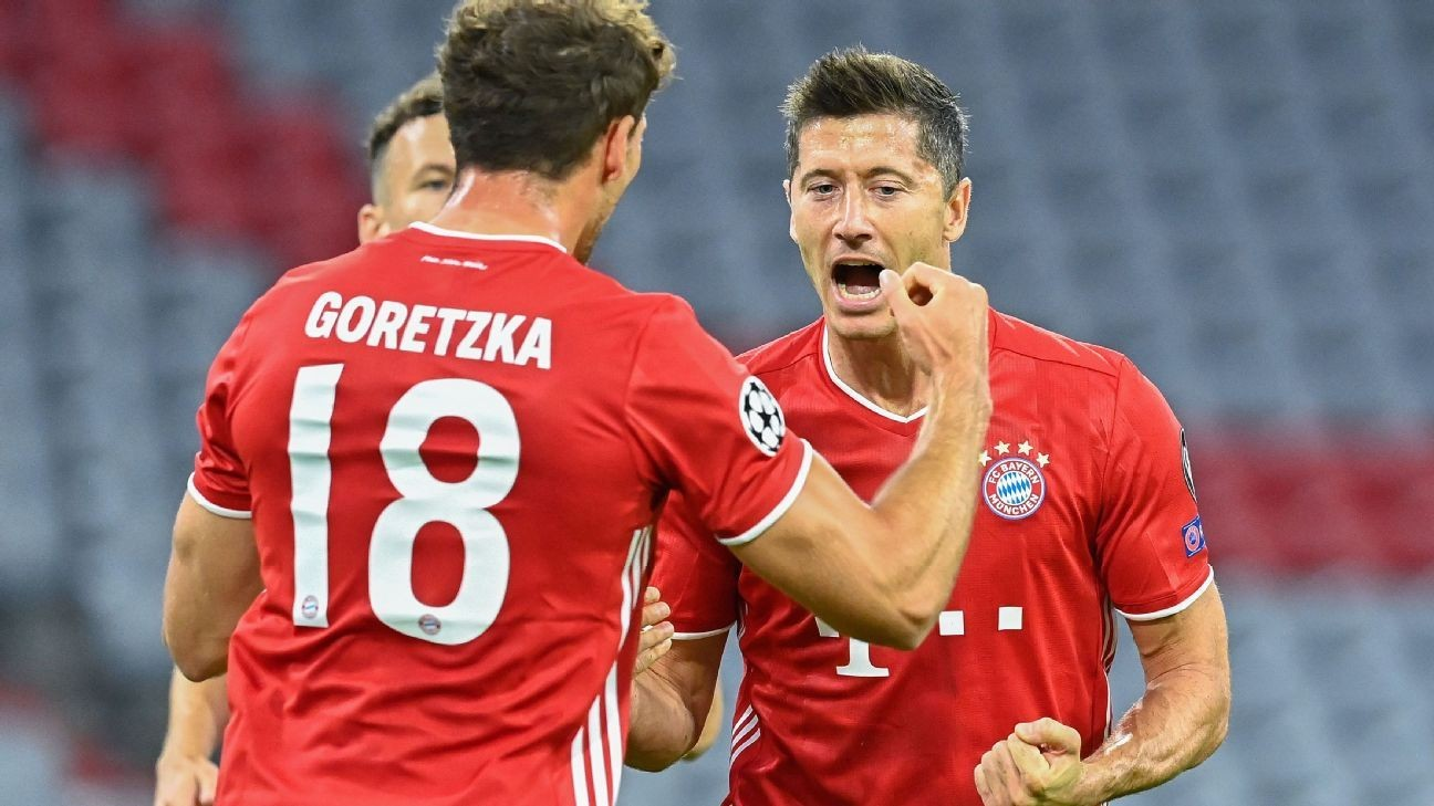 Bayern crush Chelsea to move into UCL last eight