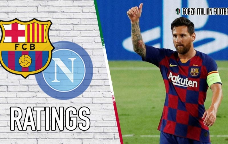 Barcelona Player Ratings: Magical Messi dominates proceedings