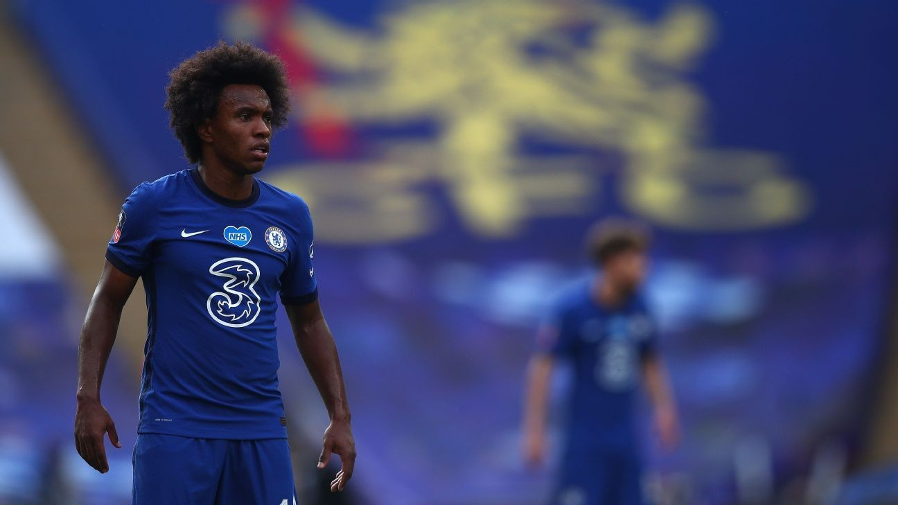 Willian confirms departure from Chelsea