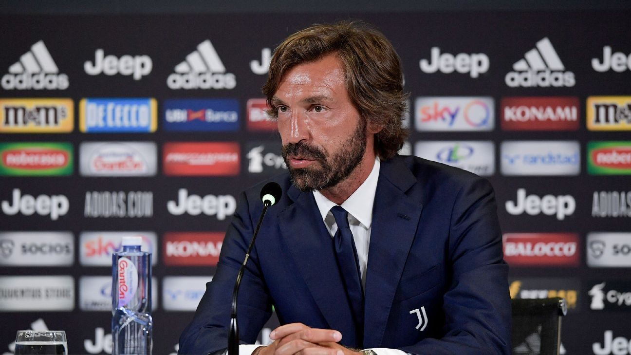 Juventus hope Pirlo can be a 'Ronaldo Whisperer' after Sarri mess