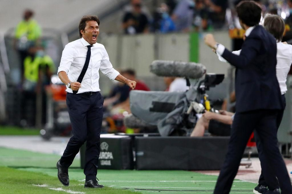 "CONTE: ""WE'RE REALLY HAPPY AND AIMING FOR THE MAXIMUM"""