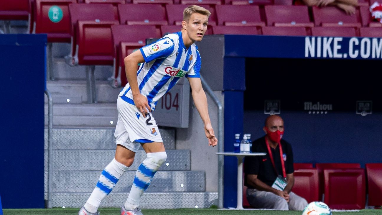 Odegaard returns to Real Madrid as loan ends