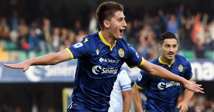 Lazio to offer two players plus cash for Hellas Verona starlet