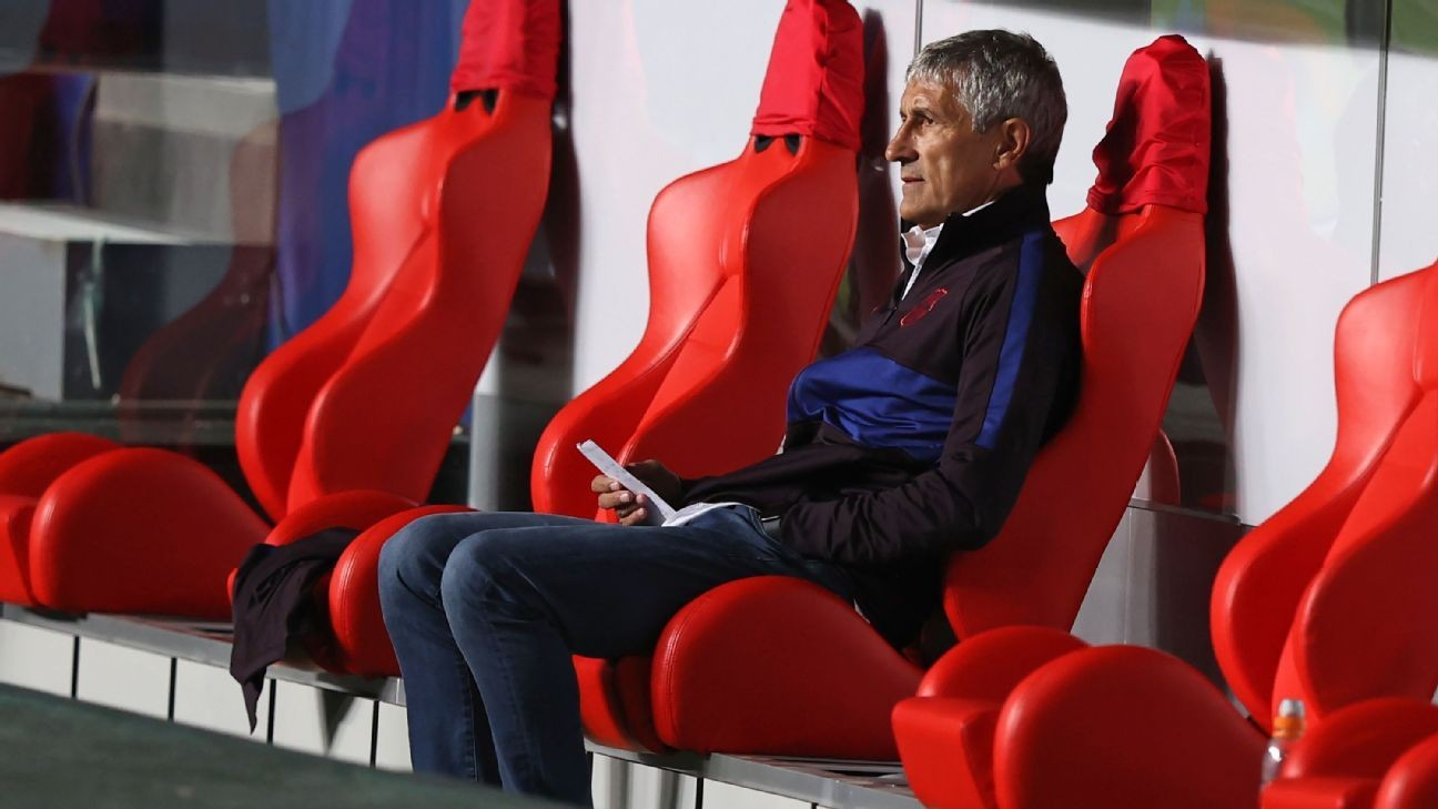 Sources: Barca to sack Setien in coming days