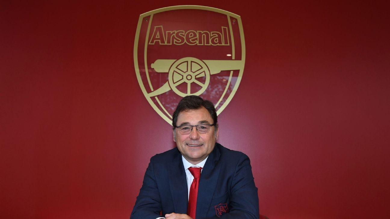 Sanllehi leaves Arsenal head of football role