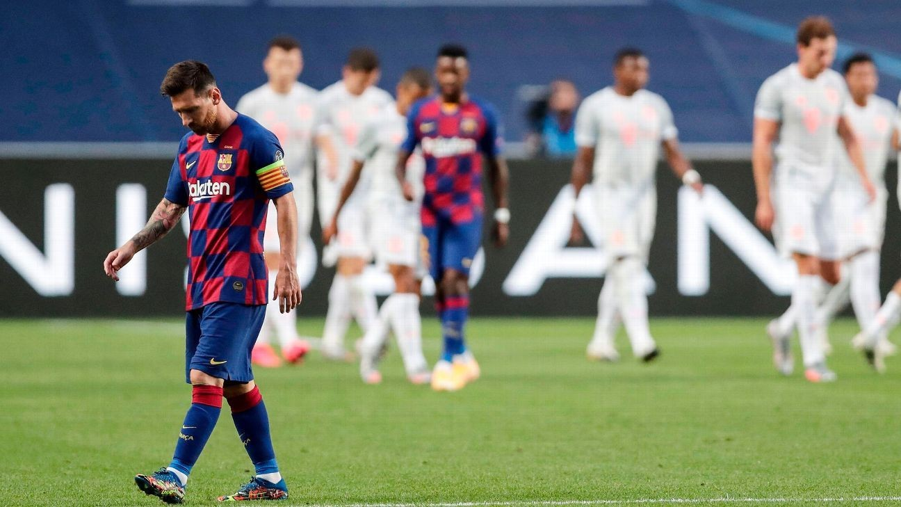 Barca's humiliation was their own fault, yet they didn't see it coming