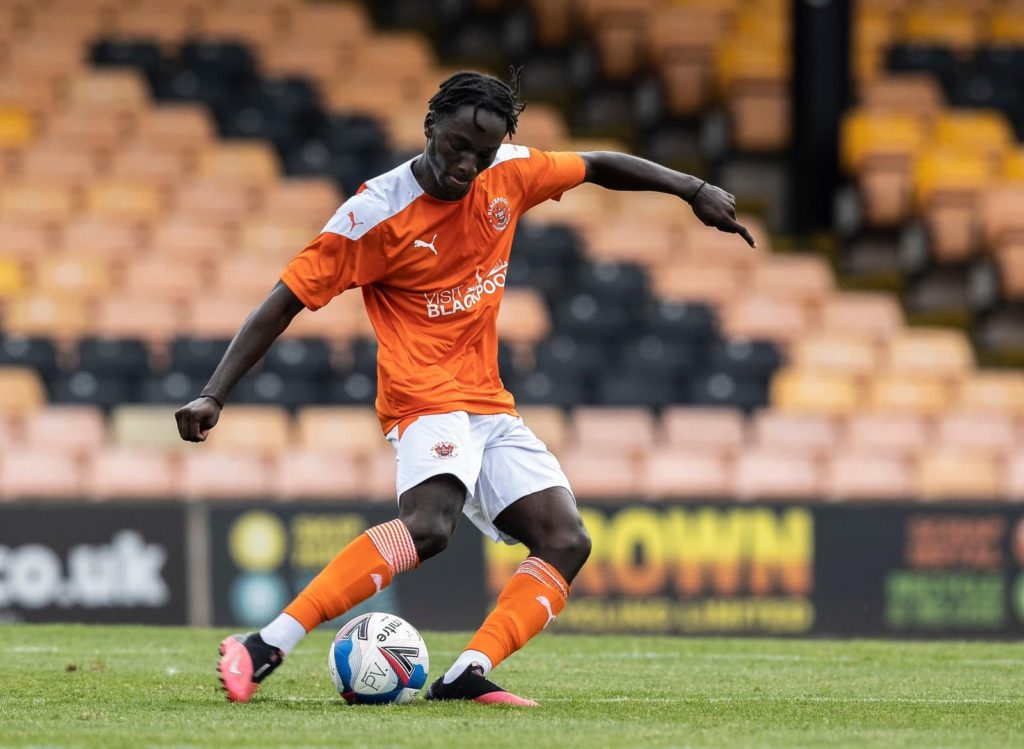 Ghanaian teen Cameron Antwi promoted to Blackpool first-team squad