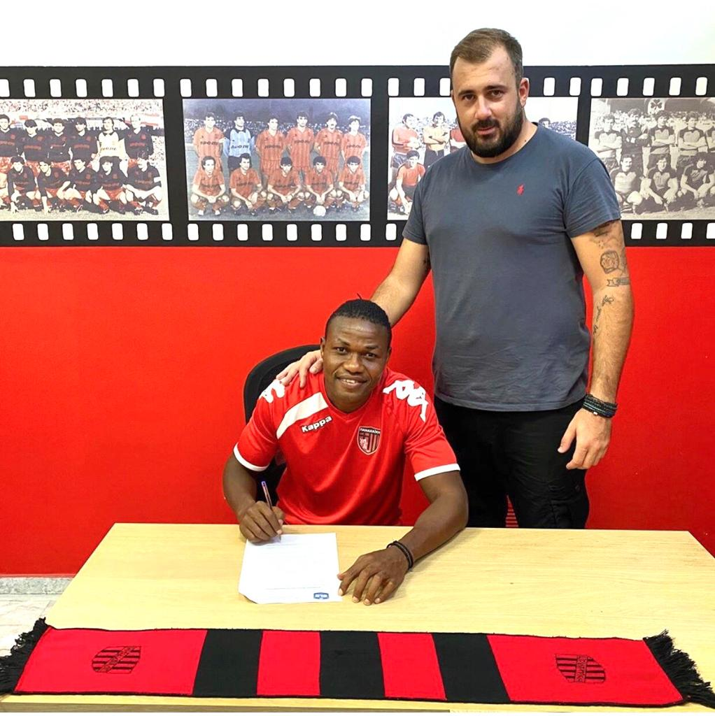 OFFICIAL: Ghana's Albert Bruce inks two-year deal at Greek side Panachaiki FC