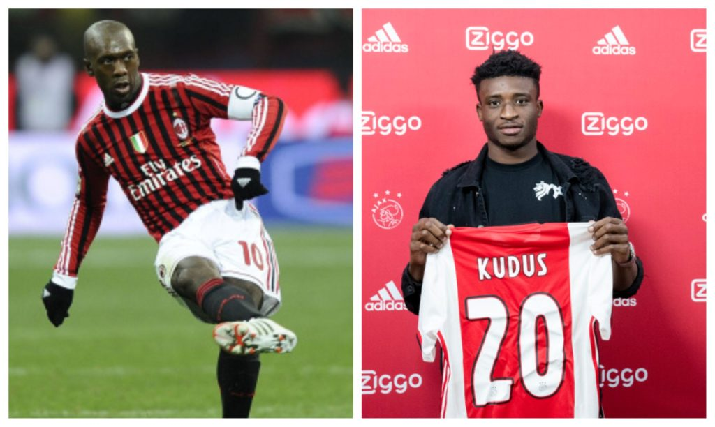 'He can play in all positions in midfield' – Mohammed Kudus likened to Clarence Seedorf