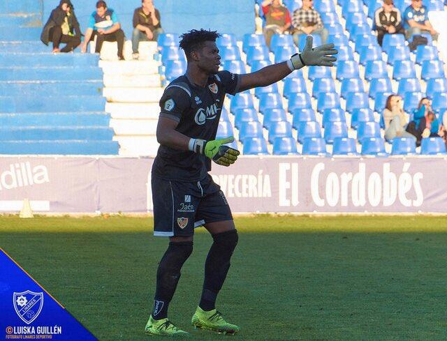 Goalkeeper Razak Brimah and Linares Deportivo promoted to Spanish Segunda B