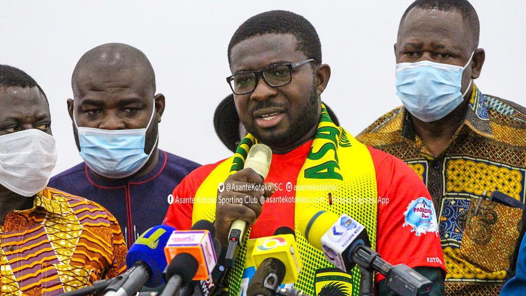 No regrets taking Asante Kotoko job- Nana Yaw Amponsah