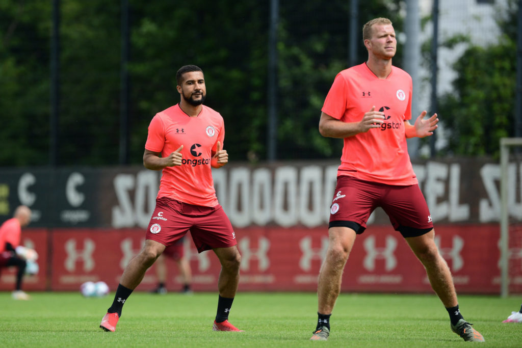 Ghanaian striker Daniel-Kofi Kyereh starts training with new club FC St. Pauli