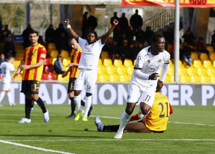 Top scorer Emmanuel Gyasi fires Spezia to Serie A promotion play-offs