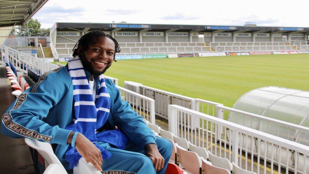 Ghanaian midfielder Claudio Ofosu completes Hartlepool United move