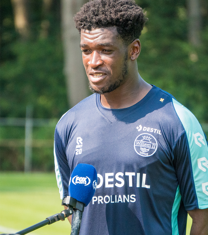 VIDEO: Kwasi Okyere reveals why he joined Willem II, his friendship with Derrick Kohn and expectations