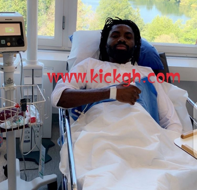 Kwame Kizito ruled out for rest of season after successful knee surgery