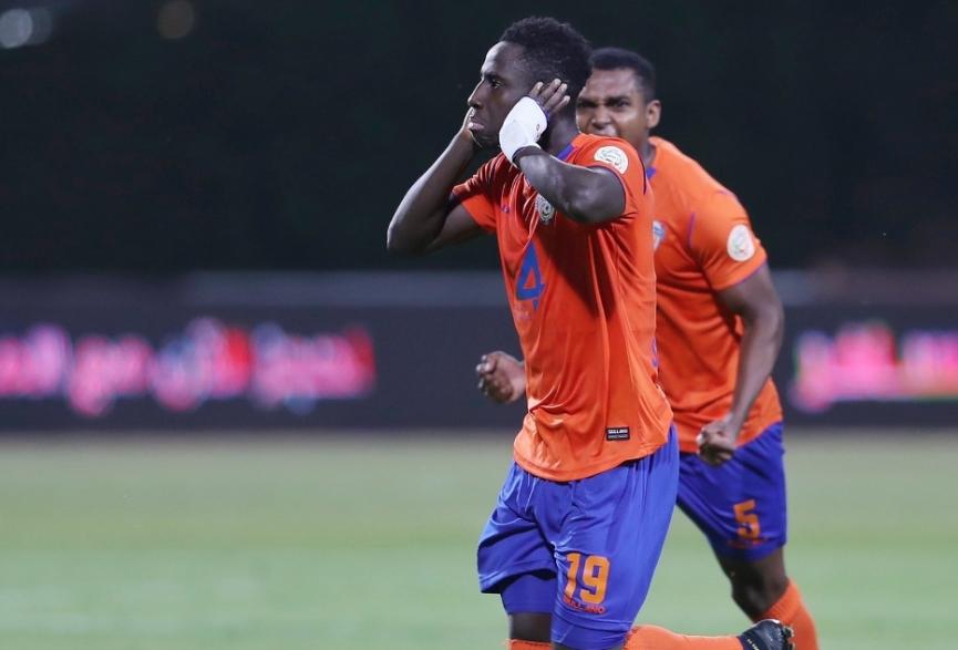 Ghana winger Samuel Owusu on target as Al-Fayha share spoils against Al-Shabab