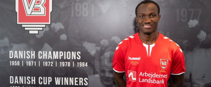 BREAKING: Raphael Dwamena joins Danish side Vejle Boldklub