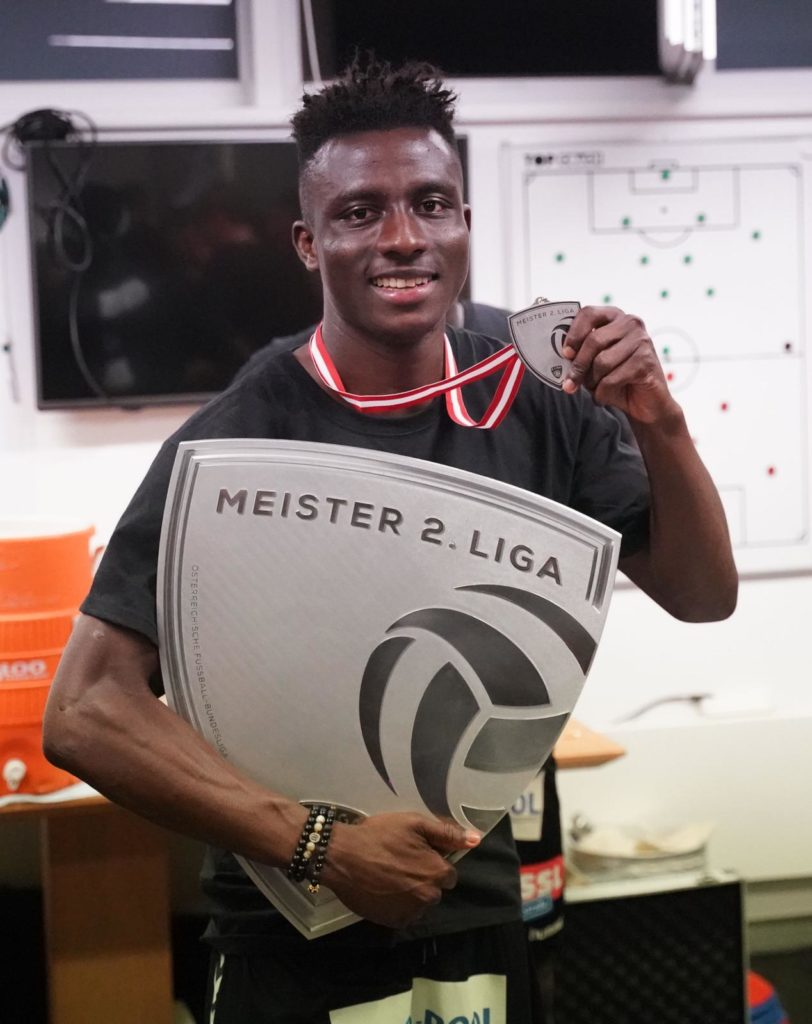 Reuben Acquah: The unsung hero in SV Ried's Austrian Bundesliga promotion
