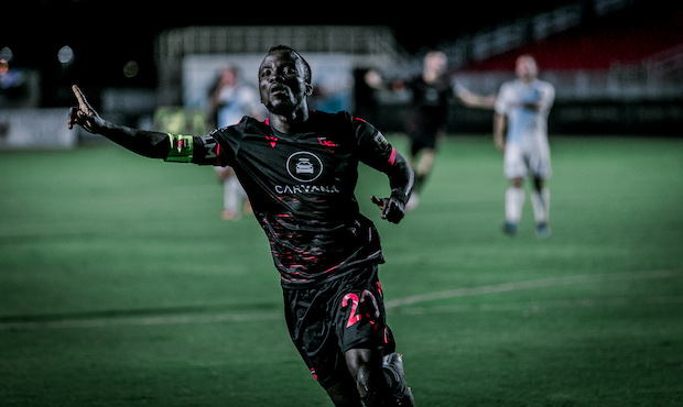VIDEO: Solomon Asante scores as Phoenix Rising FC win to move to second on table