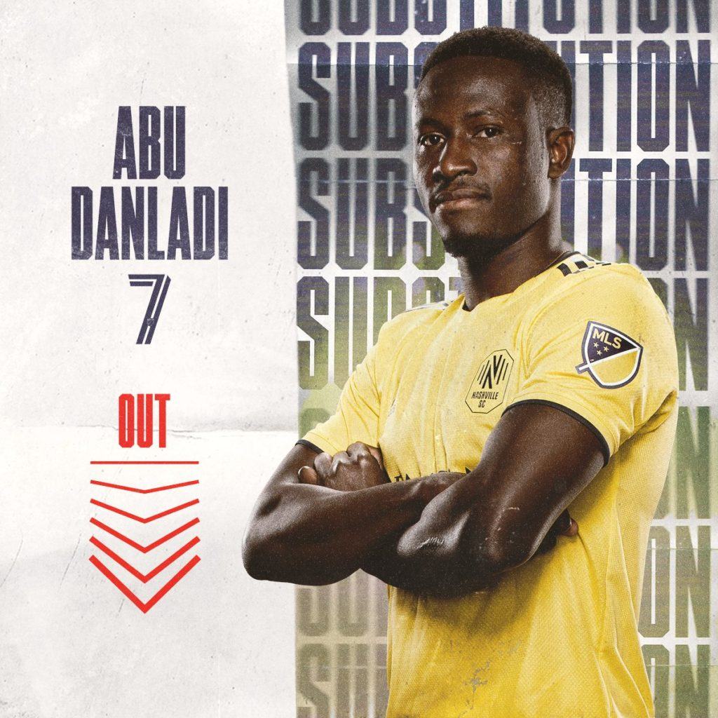 Abu Danladi features as Nashville SC pip Inter Miami in MLS