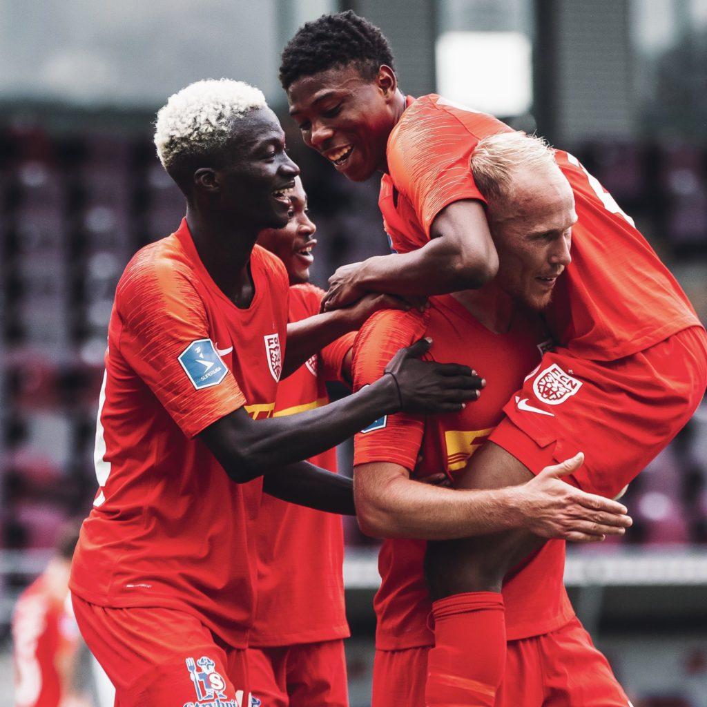 VIDEO: Ghanaian trio on target as FC Nordjaelland beat HB Køge in nine goal thriller