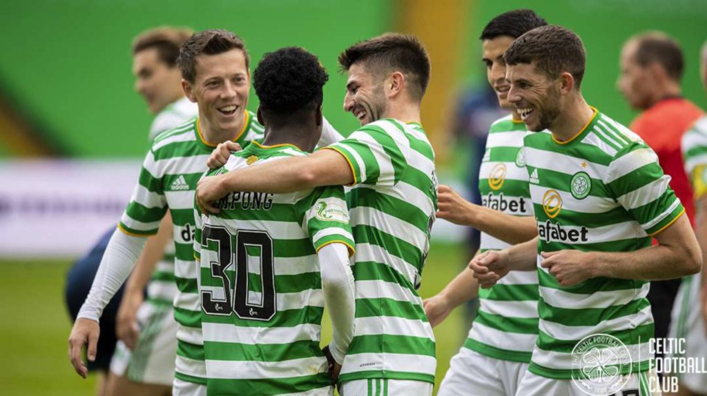 VIDEO: Watch Jeremie Frimpong's goal for Celtic in thumping win over Hamilton