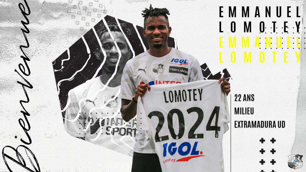 Breaking News: Ghana midfielder Emmanuel Lomotey completes move to French side Amiens