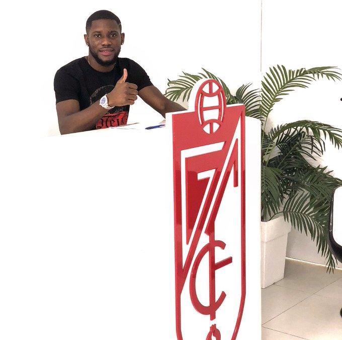 Ghana U-23 defender Kingsley Fobi happy to join Recreativo Granada