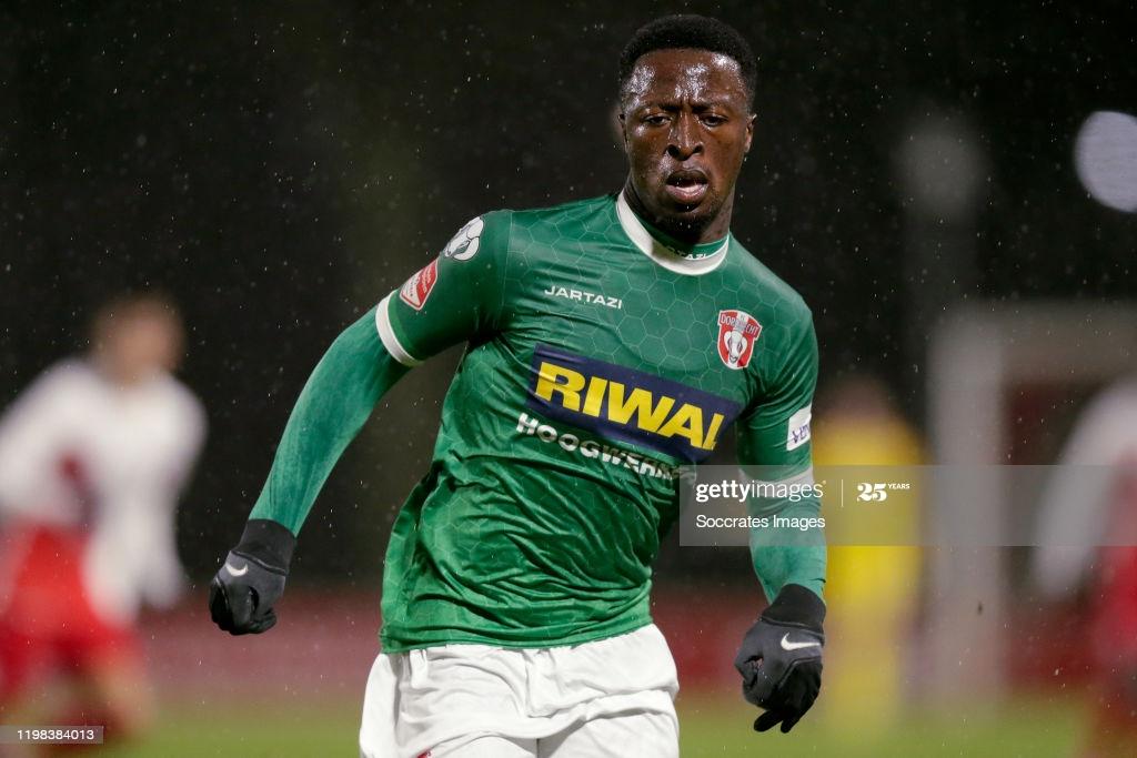 Ghana's Robin Polley named MoTM on debut for FC Dordrecht against Excelsior
