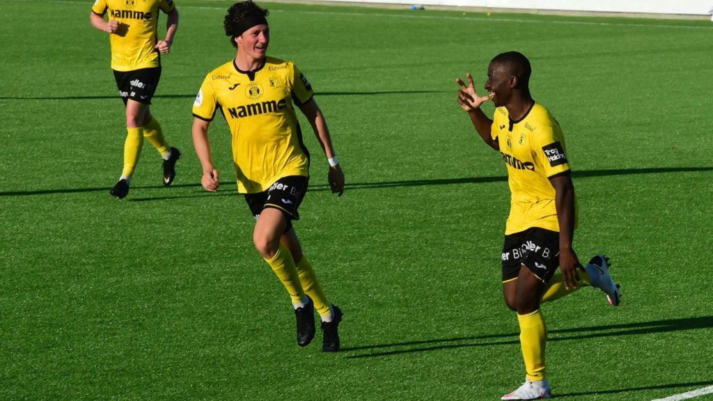 Ghanaian midfielder Solomon Owusu nets first goal of the season in Raufoss' draw against Jerv
