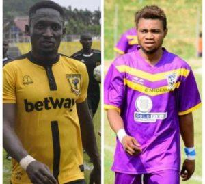 DR Congo side AS Simba Kamikaze sign Ghanaian duo Ricky Adjei Mensah and Godfred Nyarko