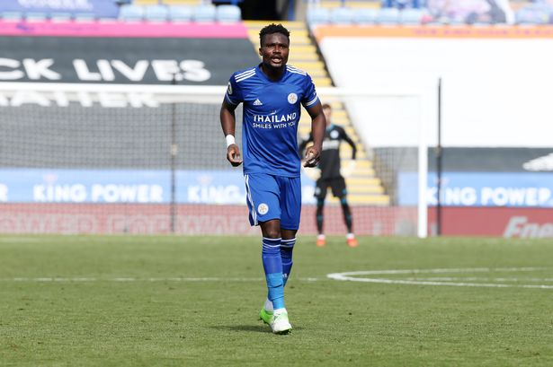 Daniel Amartey ruled out of action for 'number of weeks'