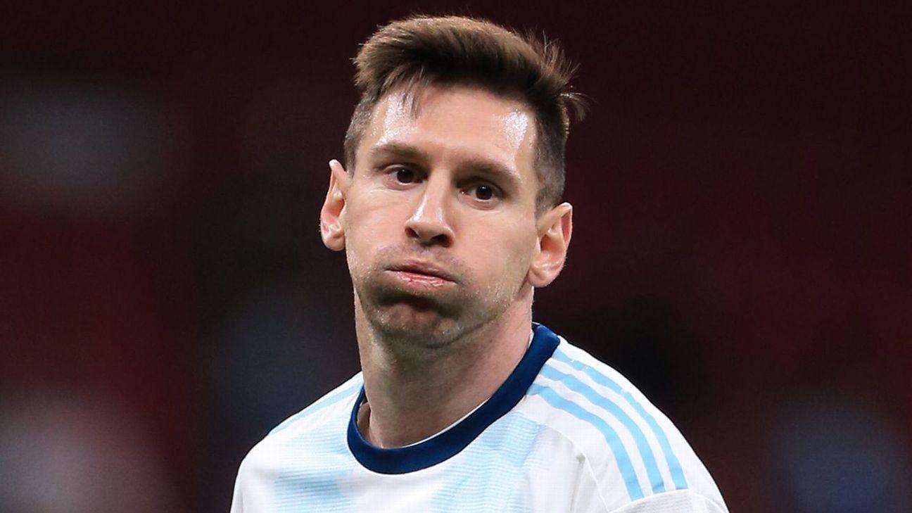 Messi, Galaxy's Pavon on Argentina squad list