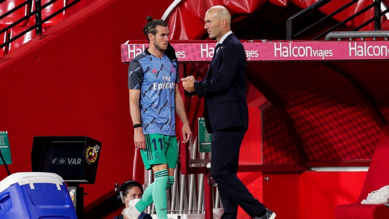 Zidane denies Bale rift ahead of Spurs move