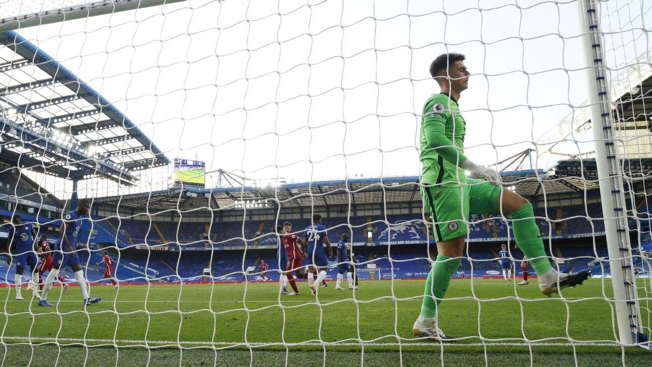 Social media roasts Kepa for Chelsea's loss to Liverpool