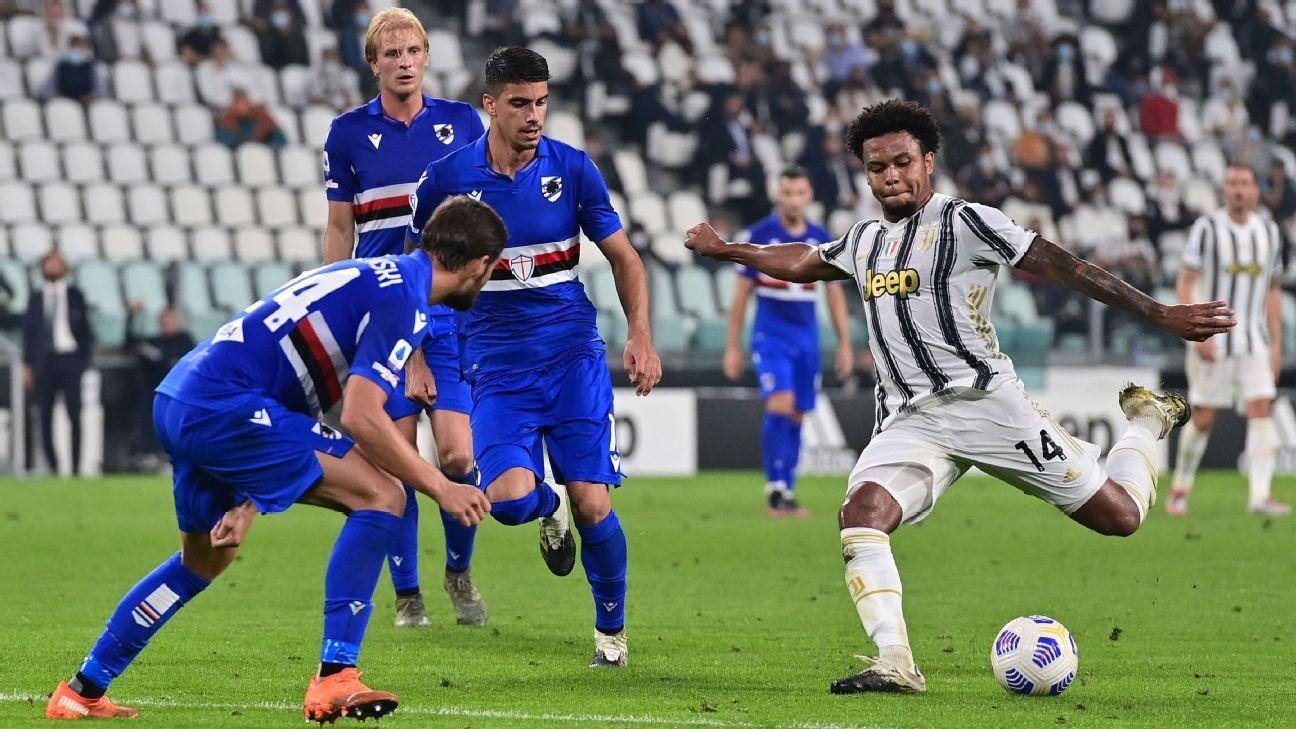 USMNT's McKennie starts in Juventus' opener