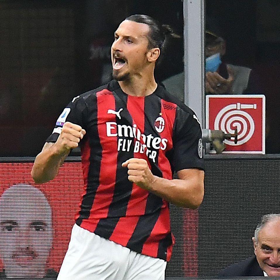 Ibra brace delights fans as Milan win opener