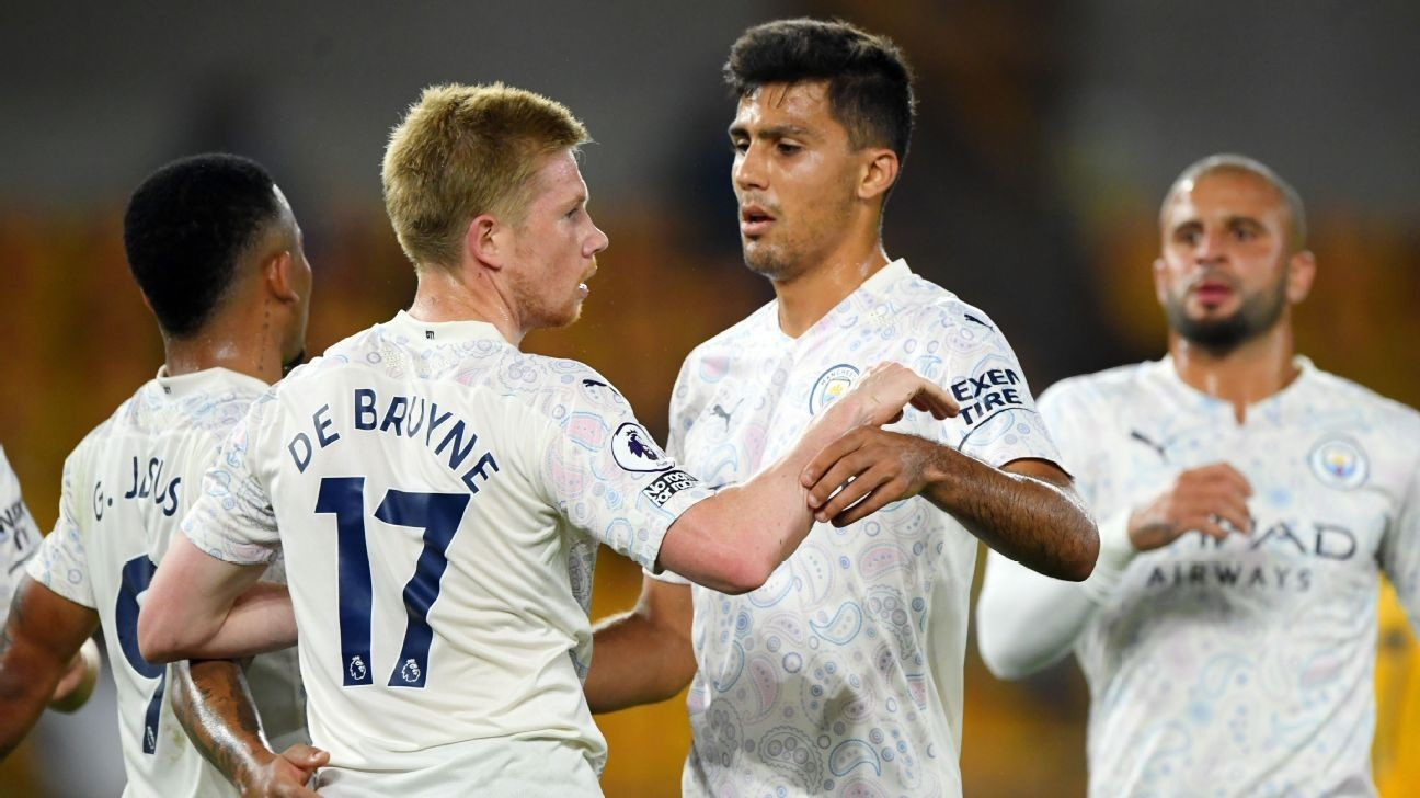 8/10 De Bruyne and Man City make title ambitions clear