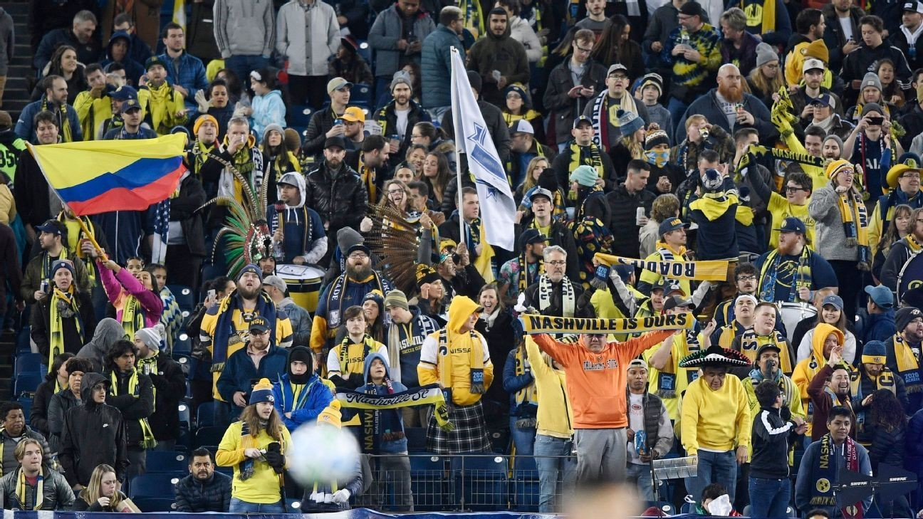 Nashville took inspiration from music, Liverpool to join MLS