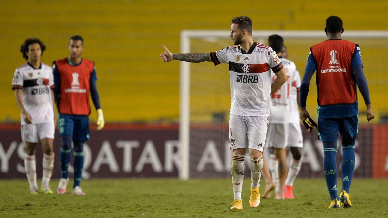 Flamengo navigate COVID-19 fraught match