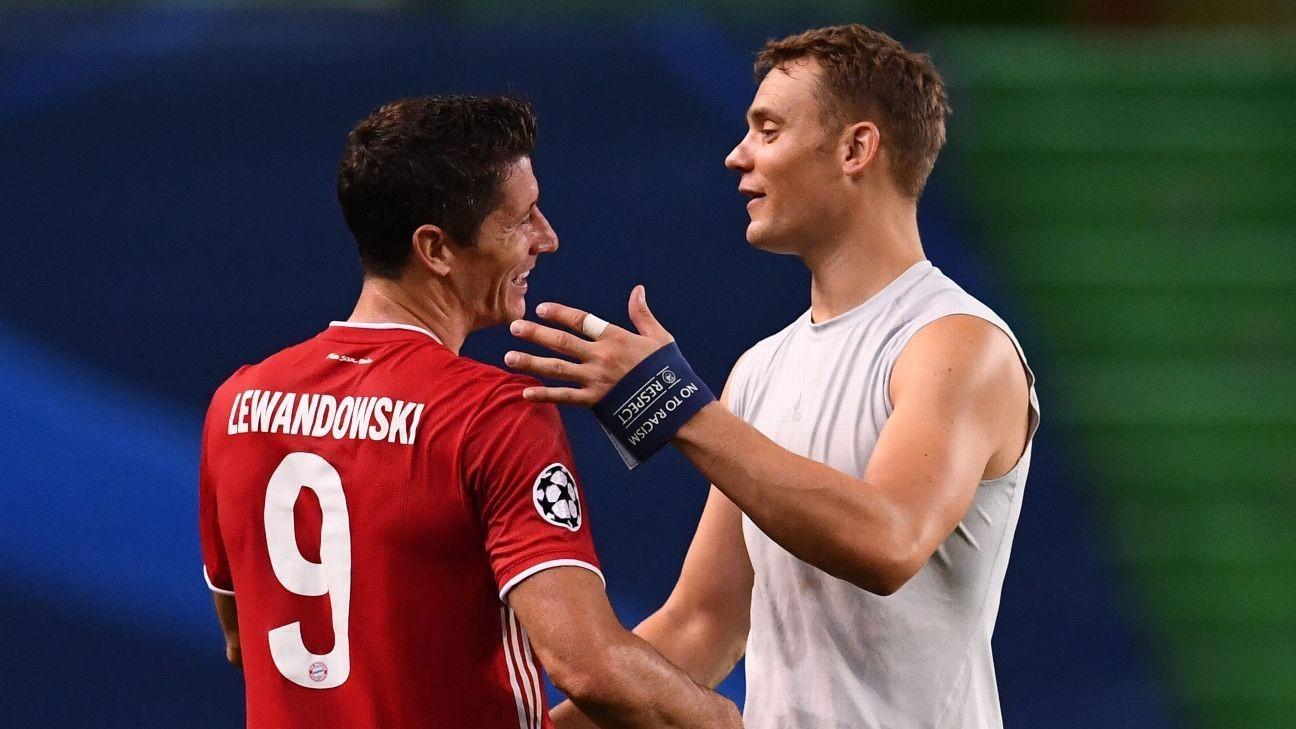 Lewandowski, De Bruyne head UEFA shortlist