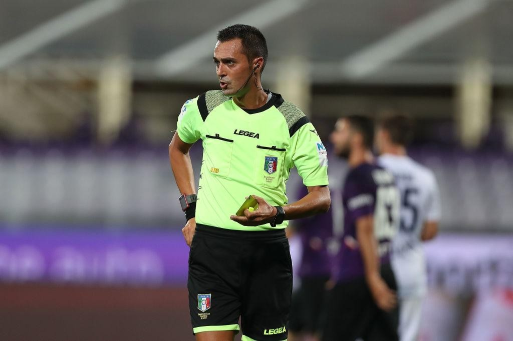 SERIE A TIM, THE REFEREES FOR THE 2ND ROUND