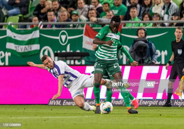 Abraham Frimpong plays full throttle as Ferencvárosi draw at Molde in UCL qualifying