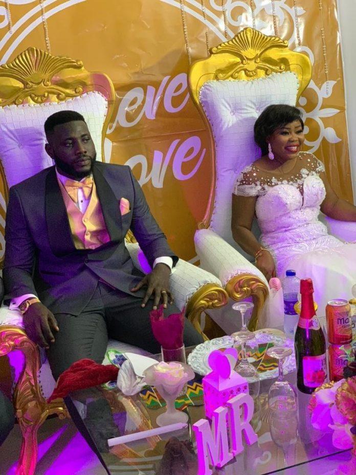 Hearts of Oak top goalie Richard Attah marries Joyce Annan in low-key wedding