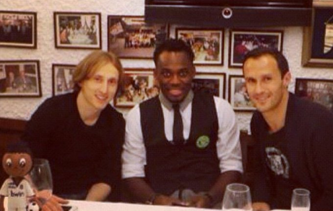 The sad story of how only TWO Real Madrid players attended Michael Essien's 30th Birthday bash