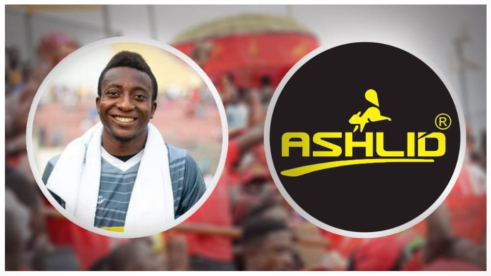 Kotoko captain Felix Annan appointed brand ambassador for Sports firm Ashlid Enterprise