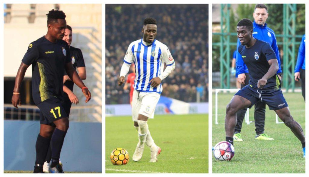 Ghanaian trio Cobbinah, Gyamfi and Sulley named in KF Tirana squad for Europa League match