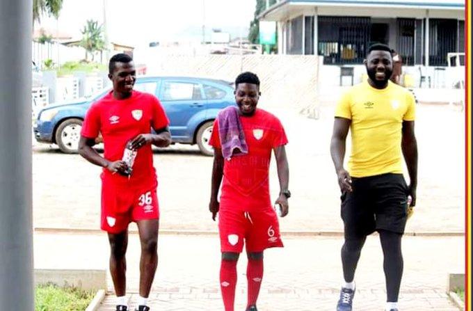 Hearts of Oak players ready for 2020/21 Ghana Premier League season